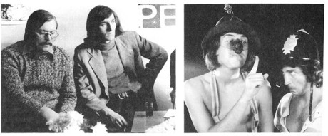 Peter Scherhaufer, Bolek Polívka a Franta Kocourek. FOTO archiv