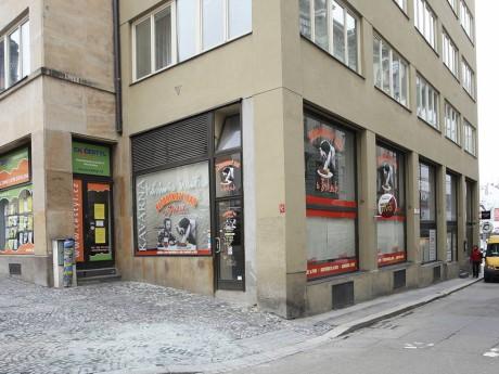 Kavárna Vladimíra Menšíka ve Veselé ulici v Brně. FOTO archiv