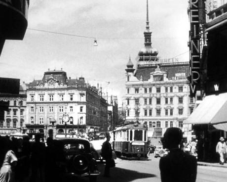 Brno,  náměstí Svobody, 1946. FOTO archiv