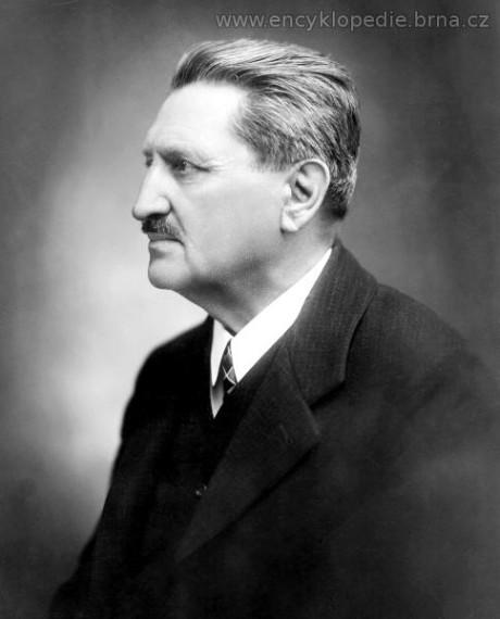 František Kyselka (13. 1. 1859 - 13. 10. 1949). FOTO archiv Města Brna