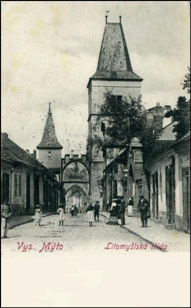Vysoké Mýto - Litomyšlská brána. FOTO archiv