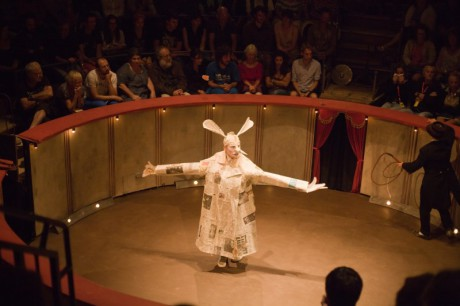 performeři z Baraque kladou důraz na poetičnost, loutky a výtvarné působení. FOTO archiv