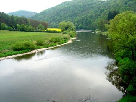 Berounka vzniká soutokem 4 řek – Mže, Radbuzy, Úhlavy a Úslavy, přičemž za bod, od něhož se řeka jmenuje Berounka, je považován soutok Mže a Radbuzy v Plzni... FOTO archiv