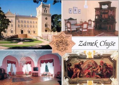 V sobotu jsme vyjeli na návštěvu zámku Chyše. FOTO archiv