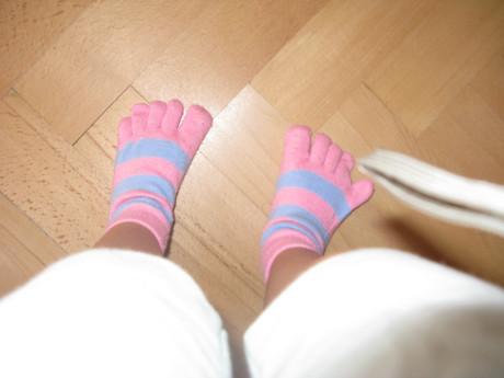 Chlapče, ty nosíš ponožky, co stahují cévy, to nesmíš. FOTO archiv