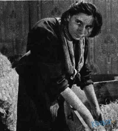 Lola Skrbková ve filmu Vlčí jáma (r. Jiří Weiss, 1957). FOTO archiv