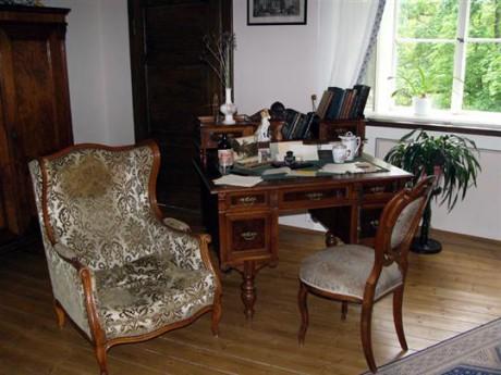 Bývalý pokoj Karla Čapka. FOTO archiv