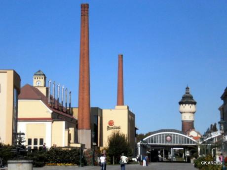 Nádvoří Plzeňského pivovaru. FOTO archiv