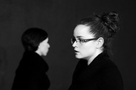 Zdeňka Brychtová v inscanaci Divadla Kámen Deus ex offo (2012). FOTO archiv Divadla Kámen