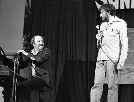 S Janem Vodňanským začátkem 80. let. FOTO archiv