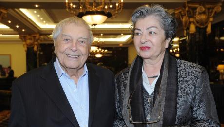Se svou ženou Katalinou. FOTO archiv