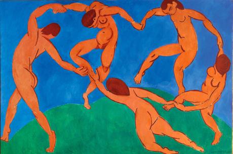 Henri Matisse: Tanec, 1910 (Ermitáž, Petrohrad). Repro archiv