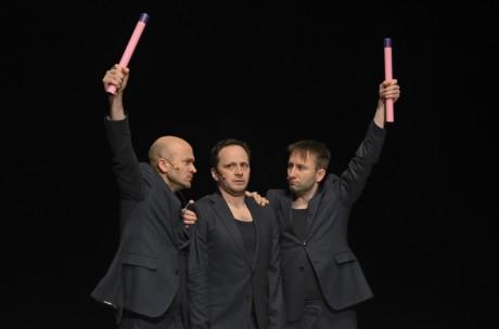 Inkubátor z Jurányi přijede s autorskou inscenací Andráse Vinnaiho Sexuální svět mužů. FOTO archiv festivalu
