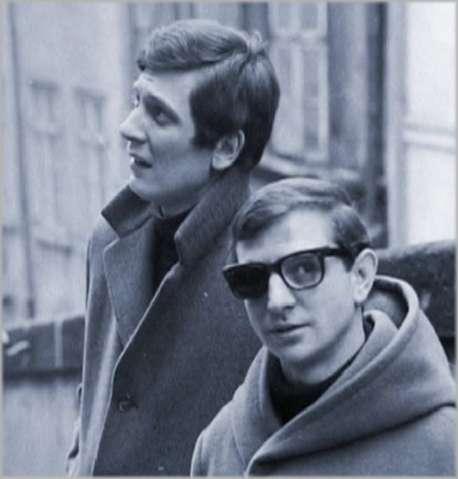 S Petrem Radou v šedesátých letech. FOTO archiv ČT