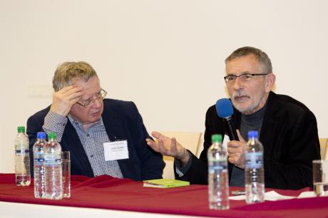 John Tyrell a Miloš Štědroň