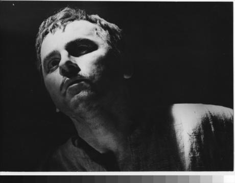 V titulní roli Büchnerova Vojcka (r. Alois Hajda, prem. 17. 11. 1962, Státní /dnes Národní/ divadlo Brno) FOTO RAFAEL SEDLÁČEK