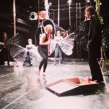 Aktéři poletovali Martou, jako okřídlený hmyz. FOTO archiv Studio Marta