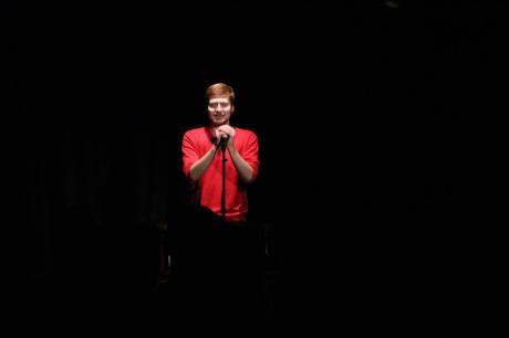 Petr Németh přistoupil k mikrofonu: Tak jste se nakonec přišli podívat?! FOTO Facebook