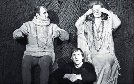 Vysockij-Hamlet (uprostřed) se stal pro tehdejší mládež idolem FOTO ARCHIV