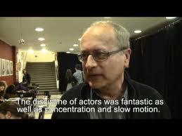 Disciplína herců byla fantastická, stejně jako koncentrace a pomalý pohyb. FOTO archiv