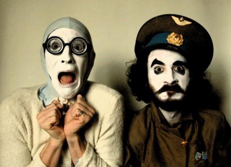 Kosta Asmanis a Guiůůaume Moreau - WARPIG Theatre Clown Punk. FOTO archiv festivalu