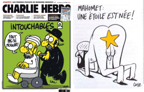 Muhammad: a star is born. Repro Charlie Hebdo