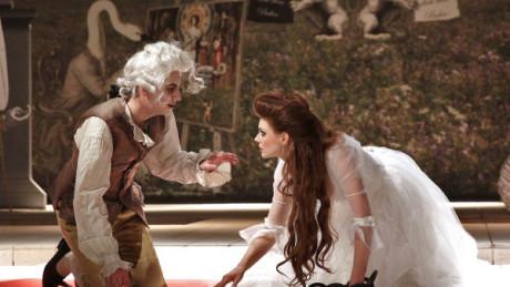 To není Smrt, to je na smrt nemocný Mozart… FOTO HANA SMEJKALOVÁ