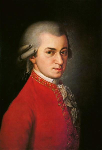 Wolfgang Amadeus Mozart, obraz od Barbary Krafft z roku 1819. Repro archiv