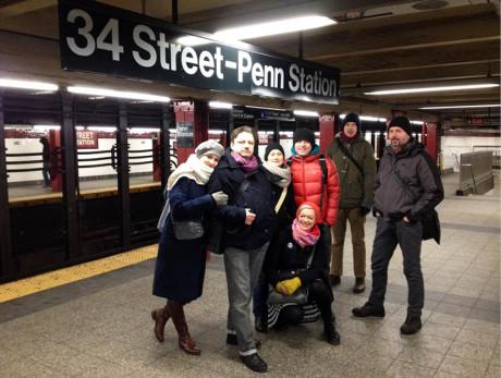 Ráno metrem  do Brooklynu...  fOTO ARCHIV NDL
