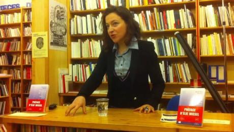 V pařížské Librairie Théâtrale 4. dubna 2015. FOTO archiv