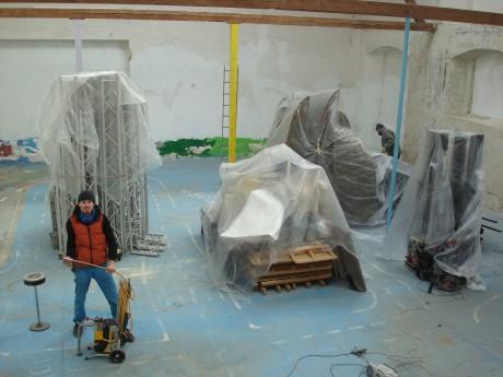 Komplexní rekonstrukci hal koordinoval technický ředitel Studia ALTA Lukáš Benda. FOTO ŠTĚPÁN HEJZLAR