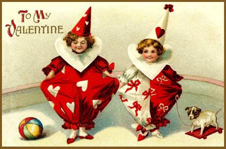 Klaunovi vnuci, hurá na procházku! aneb To My Valentine! Repro archiv