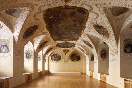 Barokní refektář Kláštera sv. Jiljí na Starém Městě v Praze. FOTO archiv