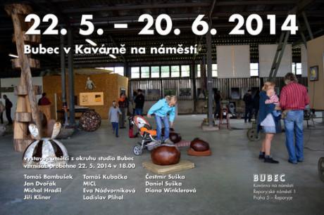 Plakát na jednu z akcí Studia bubec pořádanou v jeho prostorách. Repro archiv