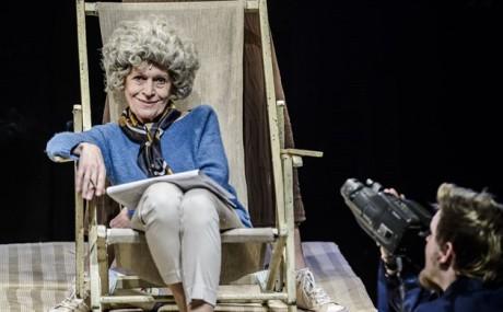 Cenu za nejlepší ženký herecký výkon získala Marie Sputrná za ztvárnění role Olgy Havlové. FOTO KIVA