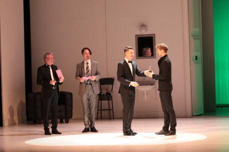 Ceny předával ředitel Národního divadla Brno Martin Glaser. FOTO archiv NDB