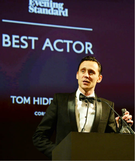 Hereckou hvězdou, na niž byla upřena největší pozornost, byl Tom Hiddleston  FOTO DAVID M. BENETT