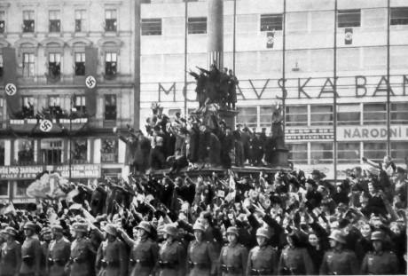 17. března 1939 byl v Brně vítán Adolf Hitler. FOTO archiv