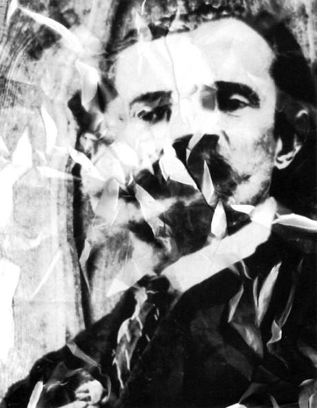 Běla Kolářová: Ladislav Klíma, derealizovaný portrét (1. pol. 60. let XX. století). Repro archiv