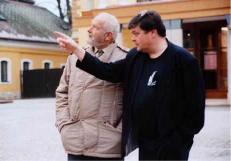 Olbram Zoubek a Ladislav Zeman