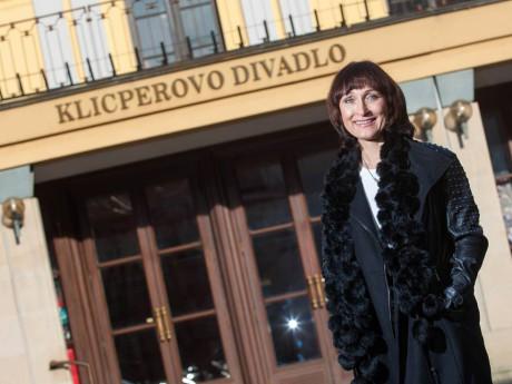 Eva Mikulková, nová ředitelka Klicperova divadla v Hradci Králové. FOTO MICHAL FANTA