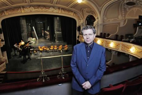 František Skřípek, ředitel Městského divadla Mladá Boleslav. FOTO archiv