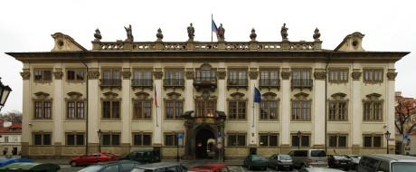 Nostický palác na Malé Straně v Praze, hlavní sídlo Ministerstva kultury. FOTO archiv