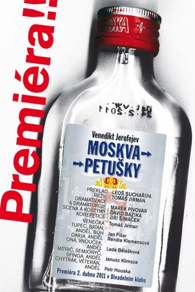 Venedikt Jerofejev: Moskva-Petušky (NDM Ostrava). Repro archiv
