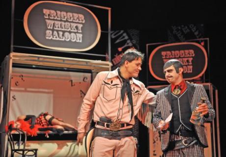 Kladl jsem si otázku, čím je toto představení? FOTO archiv Divadla Radost