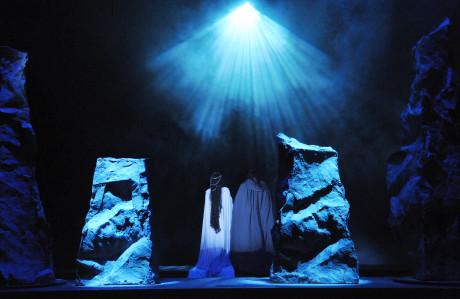 Prostor tvořený světly FOTO PAVEL KŘIVÁNEK