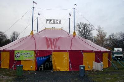 Cirkus Praga. FOTO archiv