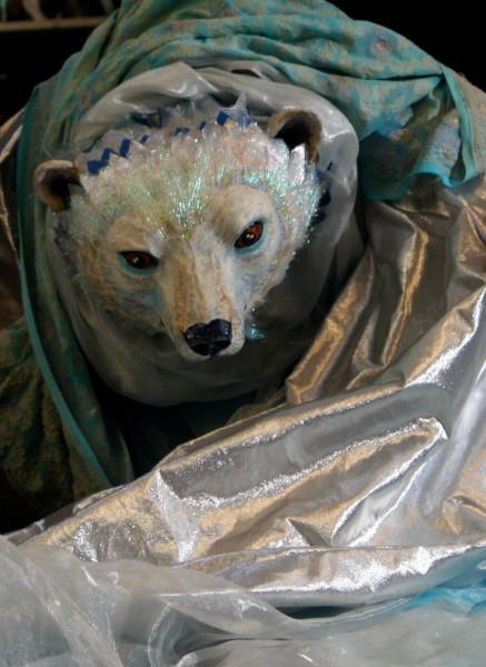 důležitou roli tu má zakletý bílý medvěd, FOTO archiv souboru