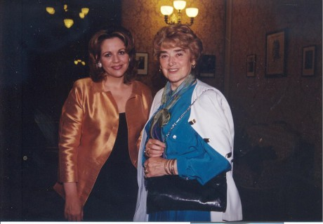 Dvě Rusalky – Renée Fleming a Milada Šubrtová, Praha, Rudolfinum, 31.7. 1999. FOTO archiv autora