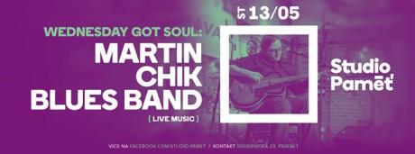 Wednesday Got Soul: Martin Chik Blues Band